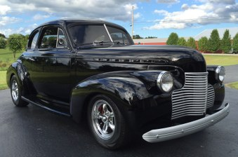 Sold! 1940 Chevy Coupe! Nice Street Rod!