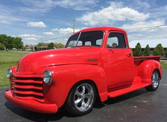 SOLD 1948 Chevy 5 Window Truck!