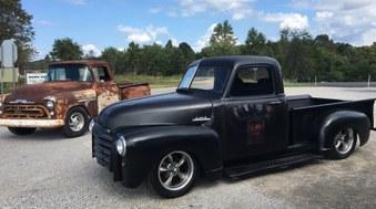 SOLD!  1950 GMC Truck! 350 Eng, 700 R