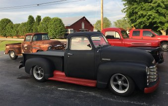 SOLD ! 1951 Chevy 3100 5 Window Truck!