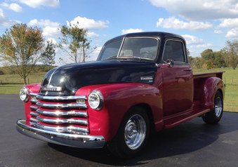 SOLD!  1951 Chevy 3100 Series 5 Window!