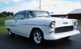 SOLD! 1955 Chevy Belair Hardtop!