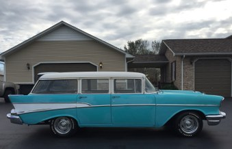 Sorry SOLD!  1957 Chevy Wagon!
