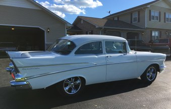 SOLD! 1957 Chevy 2 Dr Post! 327/4 Spd!
