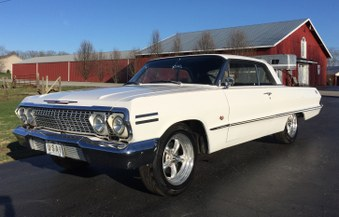 Sorry SOLD!   1963 Chevy Impala SS!