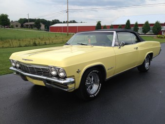 SOLD   1965 Chevy Impala Convertible!