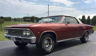 SOLD!   1966 Chevelle Convertible!