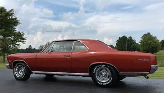 1966 Chevelle! 138 Vin! #'s Match Engine