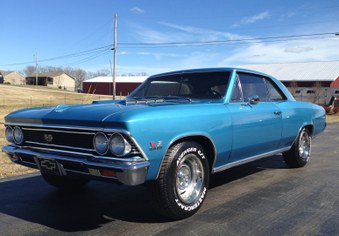 Sorry SOLD!   1966 Chevelle SS Clone!