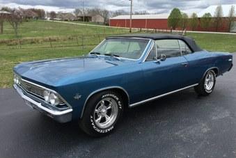 Sold 1966 Chevelle Malibu Conv.