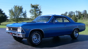 SOLD! Chevelle SS Clone! 355 Eng!