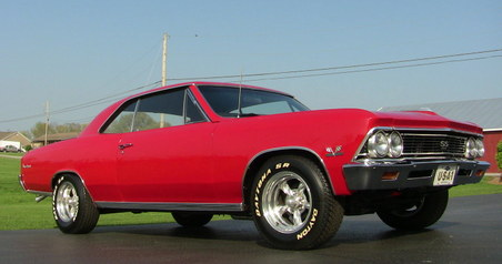 SOLD!  1966 Chevelle SS! Vin # 138!