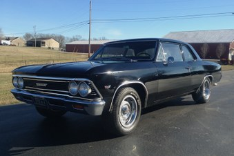 SOLD! 66 Chevelle 300 Sedan! 454/4 Spd!