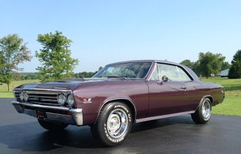 Sold 1967 Chevelle Ss 138 Vin Car