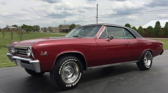 SOLD! 1967 Chevelle SS! Vin # 13817