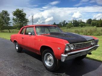 Sold! 1967 Chevelle 2 Door Post Car!