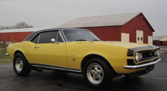 SOLD! 1967 SS Camaro! Real 4 P Car!