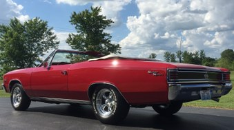 SOLD! 1967 Chevelle SS! Vin# 13867!