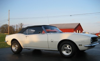 Sorry SOLD! 1968 Camaro SS Clone Conv.