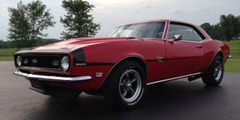 SOLD! 1968 Camaro! 350 Engine, 4 Spd!