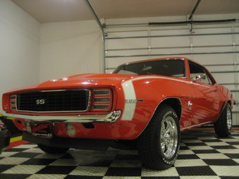 SOLD 69 Camaro RS SS 396! Hugger Orange!
