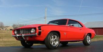 SOLD!  1969 Camaro! 454 Eng, 4 Spd!