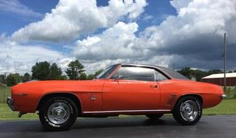 Sold!   1969 Camaro! 6 Cyl, Auto, PS!