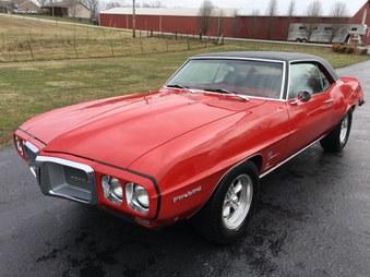 SOLD! 69 Pontiac Firebird! 400 / 4 Spd!