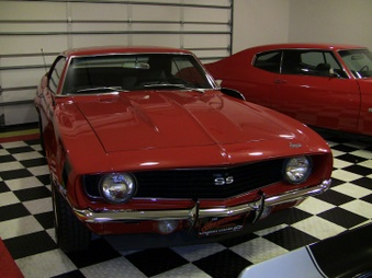 SOLD!  Camaro! Red / 396 Eng, 4 Spd!