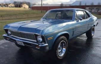 SOLD! 1970 Chevy Nova! 6 Cyl Eng, Auto!