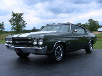 SOLD!  Chevelle SS! 396-350 HP, 4 Spd!