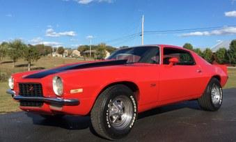 SOLD! 1971 Camaro! 350 Eng, 4 SPD!