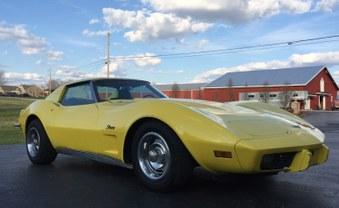 SOLD! 1971 Corvette! 350 Eng! Auto!