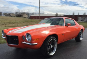 SOLD! 1972 Chevy Camaro! 350 Eng, 4 SPD!