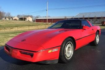 Sorry Sold! 1987 Chevrolet Corvette!