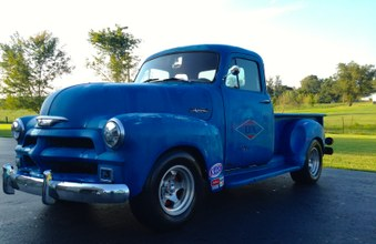 Sold!  1954 Chevy! 6 Cyl Engine, Auto!