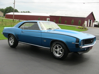 SOLD! Camaro SS 396 Clone! Lemans Blue!