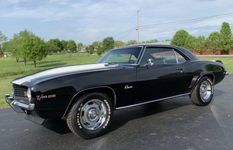Sold! In and ready to go! 1969 Camaro!