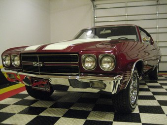 SOLD! 70 Chevelle SS Clone! 454/4 Spd! 