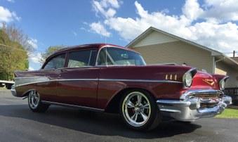 SOLD! 1957 Chevy! 350 Engine, 4 Spd!