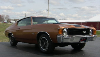 SOLD! 1972 Chevelle SS LS5!