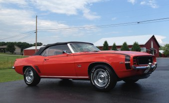 SOLD!  1969 Camaro RS SS Convertible!