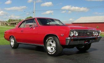 1967 Chevelle SS 396! Vin # 13817!