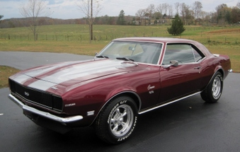 SOLD! 1968 Camaro! Sport Red Met! 