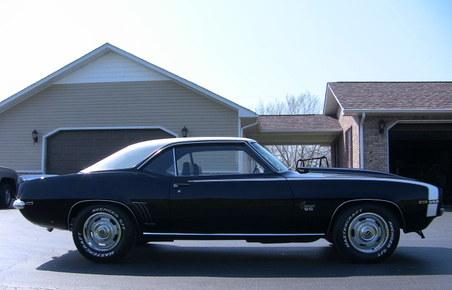 SOLD.....1969 Camaro! 4 Spd!