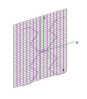 """UHF SBGH + 2ea 36""""x18"""" Screen Grid Refl."""