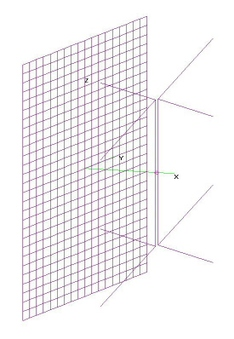Hi-VHF 2-Bay Bowtie - FLAT Grid Refl.