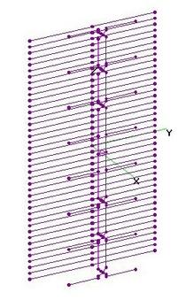 UHF Vert 8-Bay Dipole + 43 Pair RR - OPT