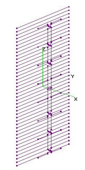 UHF Vertical 8-Bay Dipoles + 43RR