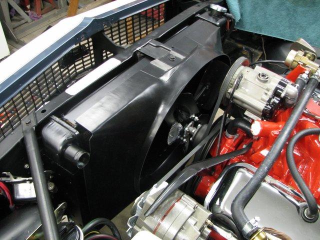 1968 Big Block Fan Shroud Help Team Camaro Tech